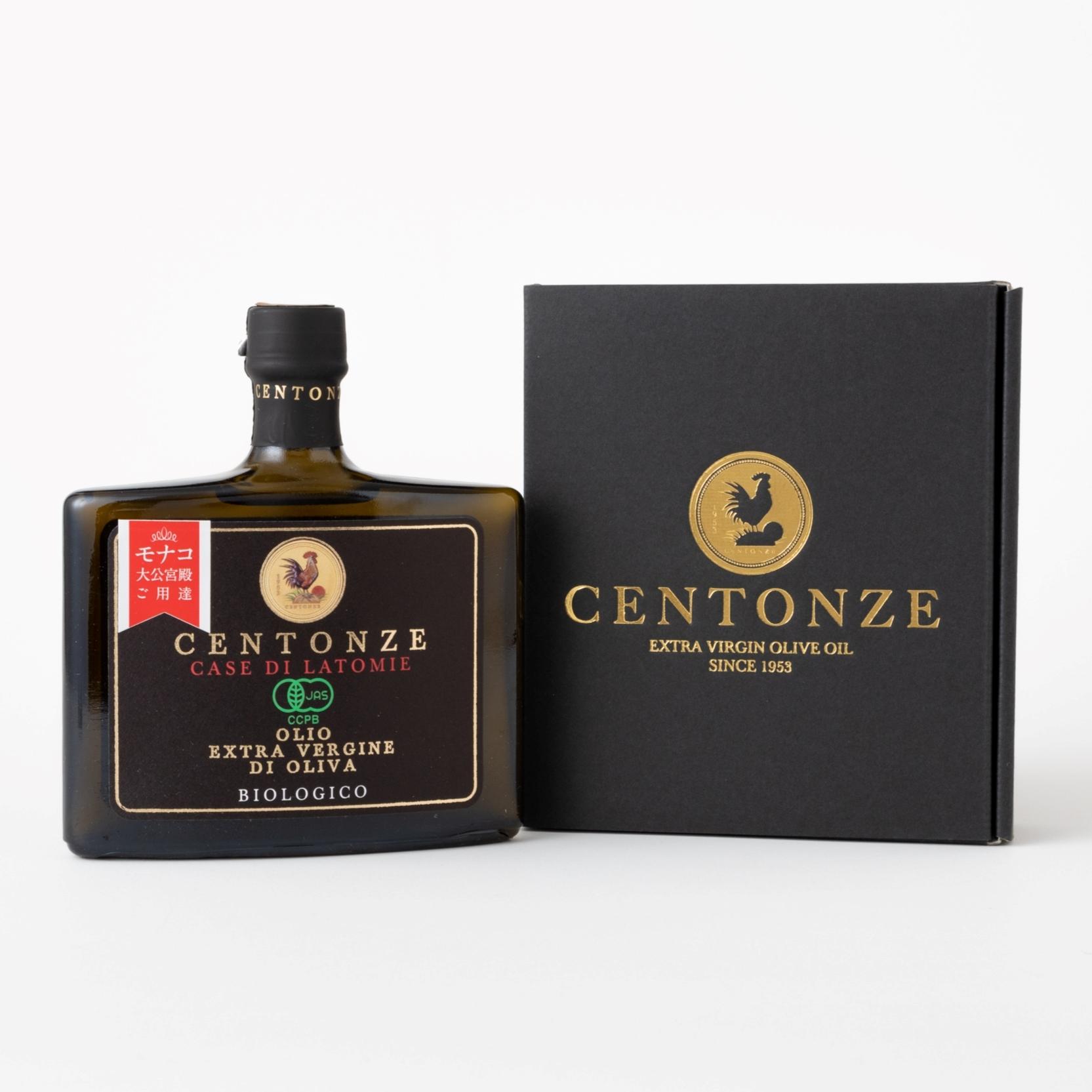 【ギフト箱入り】オーガニックエクストラバージンオリーブオイル92g・チェントンツェCentonze・シチリア産 の商品画像