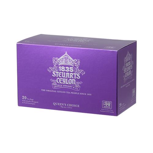 【ティーバッグ】QUEEN'S CHOICE(クィーンズチョイス)・George Steuart Tea(ジョージスチュアートティ)の商品画像