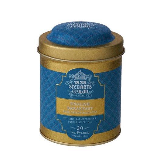 【トライアングルバッグ】ENGLISH BREAKFAST (イングリッシュブレックファスト)・George Steuart Tea(ジョージスチュアートティ)の商品画像