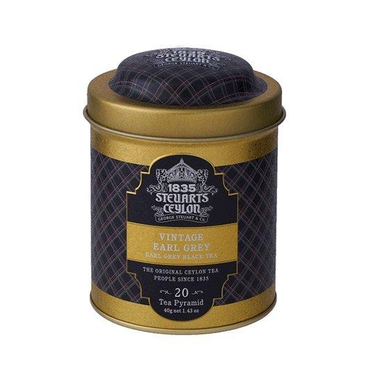 【トライアングルバッグ】VINTAGE EARL GREY (アールグレイ)・George Steuart Tea(ジョージスチュアートティ)の商品画像