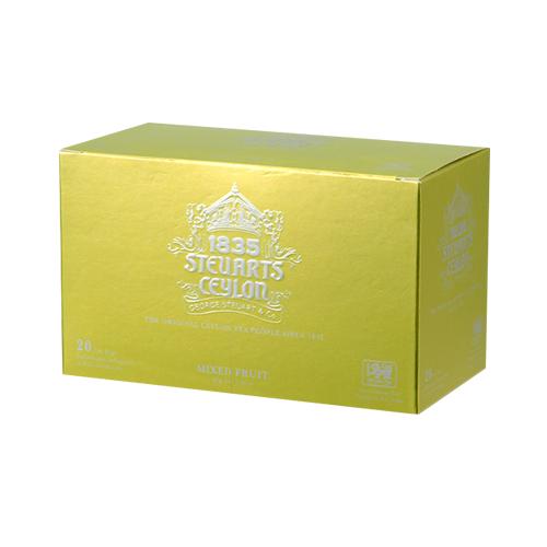 【ティーバッグ】MIXED FRUIT(ミックスフルーツ)・George Steuart Tea(ジョージスチュアートティ)の商品画像