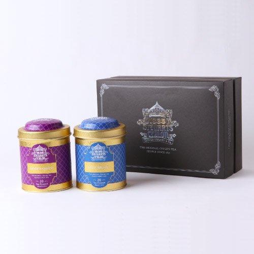 【ギフトボックス】トライアングルバッグ2缶・George Steuart Tea (ジョージスチュアートティ)の商品画像