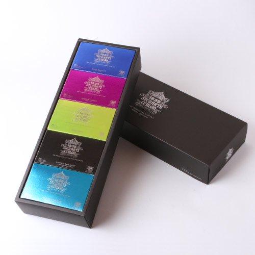 【ギフト】ティーバッグ5種×20個 ・George Steuart Tea (ジョージスチュアートティ)の商品画像