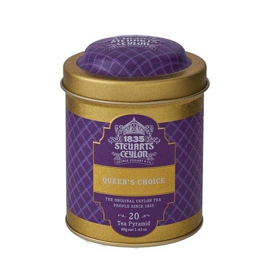 【トライアングルバッグ】 QUEEN'S CHOICE(クィーンズチョイス)・George Steuart Tea(ジョージスチュアートティ)の商品画像