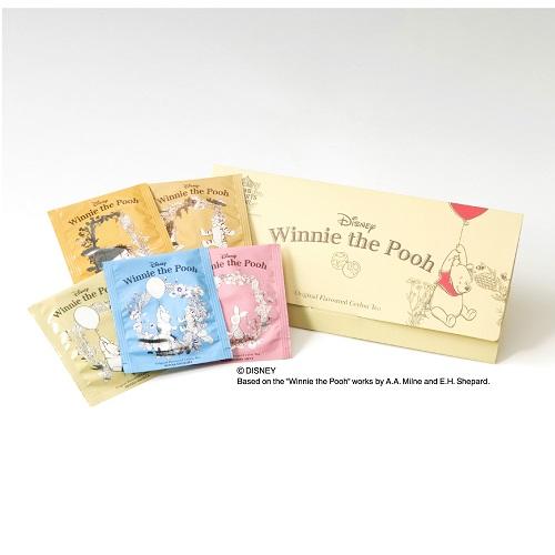 「くまのプーさん」封筒型5種アソートティーバッグ・George Steuart Tea (ジョージスチュアートティ)の商品画像