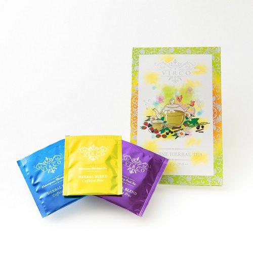VIRCOノンカフェインハーブティ・ティーバッグ3種の商品画像