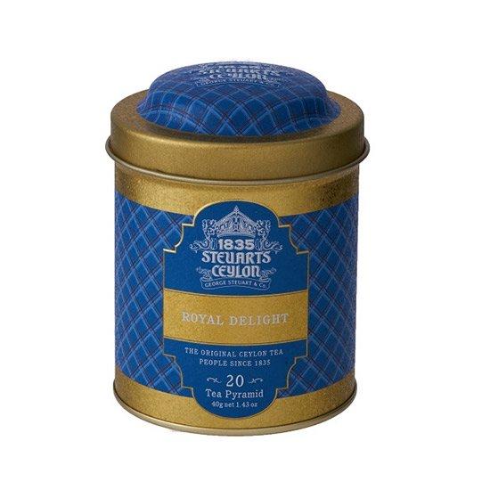 【トライアングルバッグ】 ROYAL DELIGHT(ロイヤルディライト)・George Steuart Tea(ジョージスチュアートティ)の商品画像