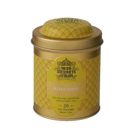 【トライアングルバッグ】MIXED FRUIT(ミックスフルーツ)・George Steuart Tea(ジョージスチュアートティ)の商品画像
