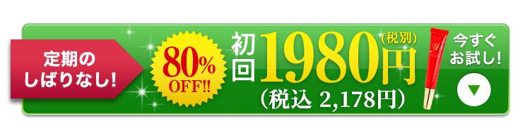 今だけ80%OFF 初回限定価格980円(税別)