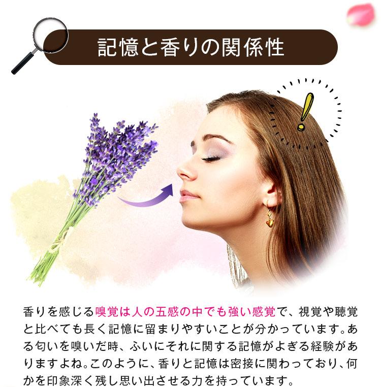 記憶と香りの関係性