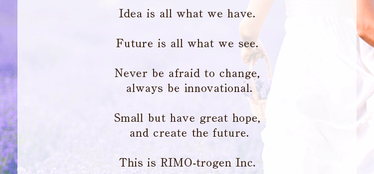 Idea is all what we have
