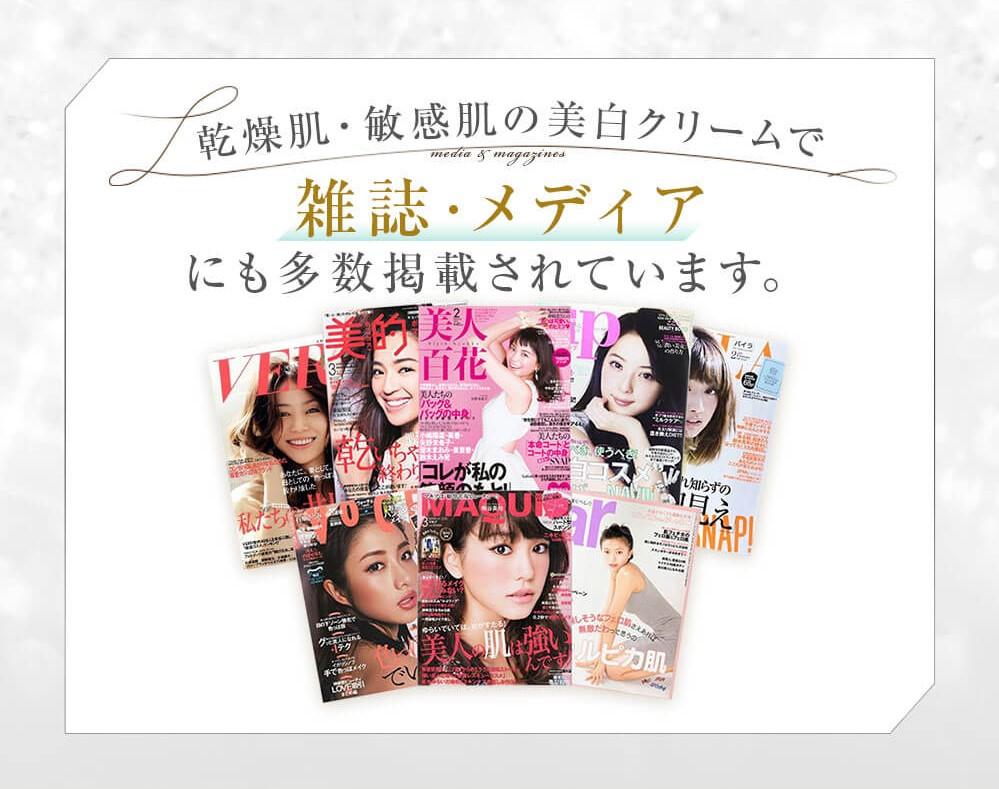 雑誌・メディアにも多数掲載されています。