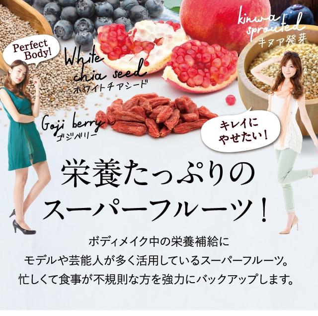 栄養たっぷりのスーパーフルーツ!