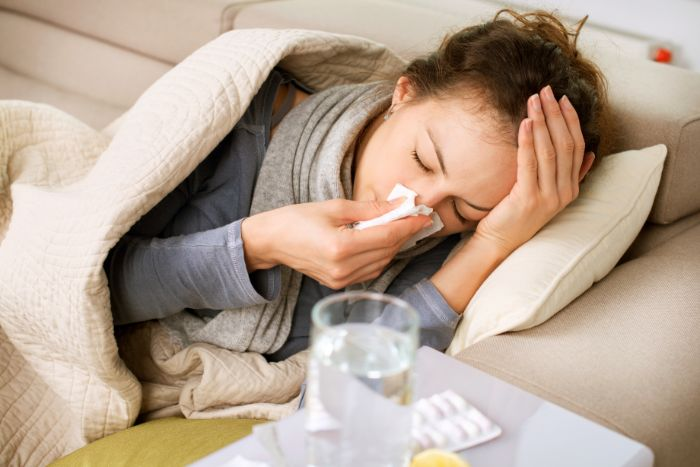 風邪を引いた時に筋トレはしてもいい?風邪と筋トレの関係