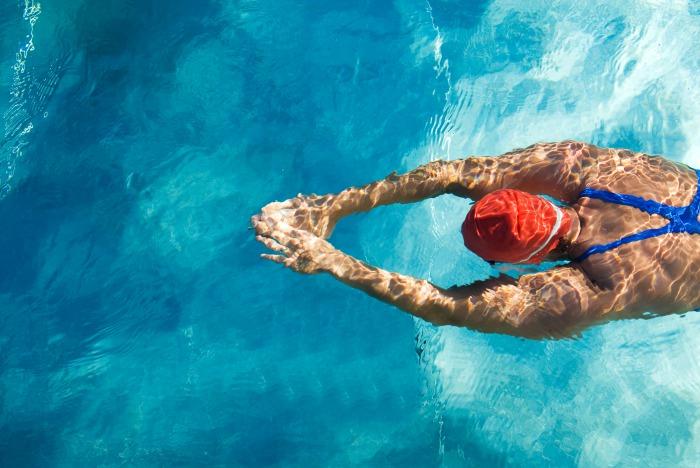 水泳に必要な筋肉を鍛えよう