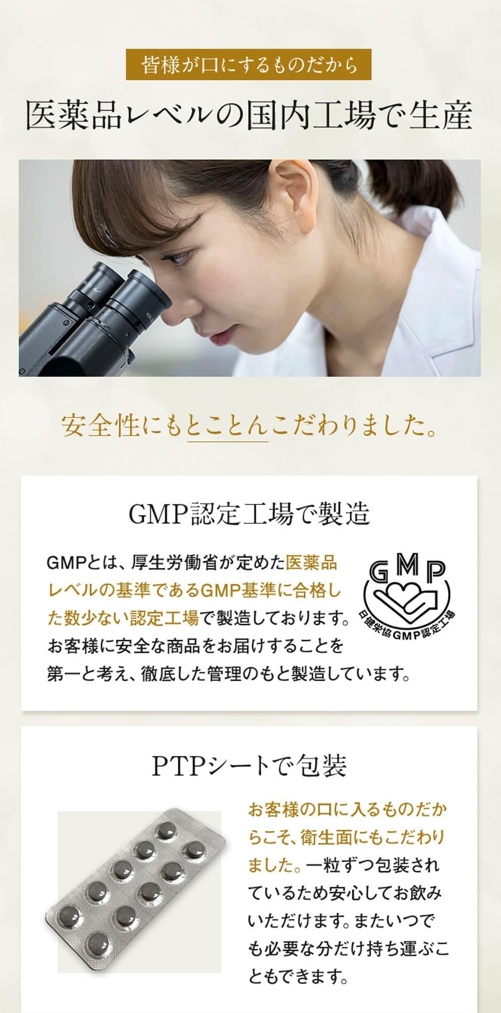 国内生産GMP