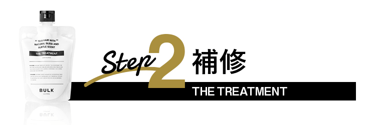 Step2 補修 THE TREATMENT