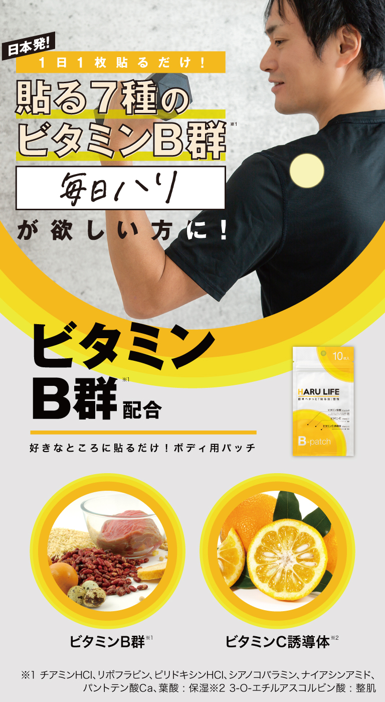 B-patch ビタミンB群配合
