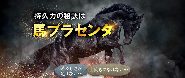 持久力の秘訣は馬プラセンタ