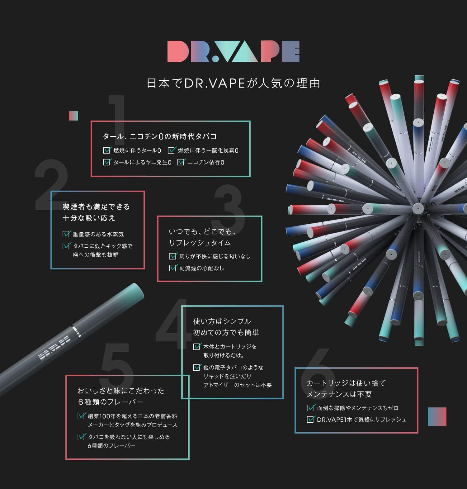 日本でDR.VAPEが人気の理由