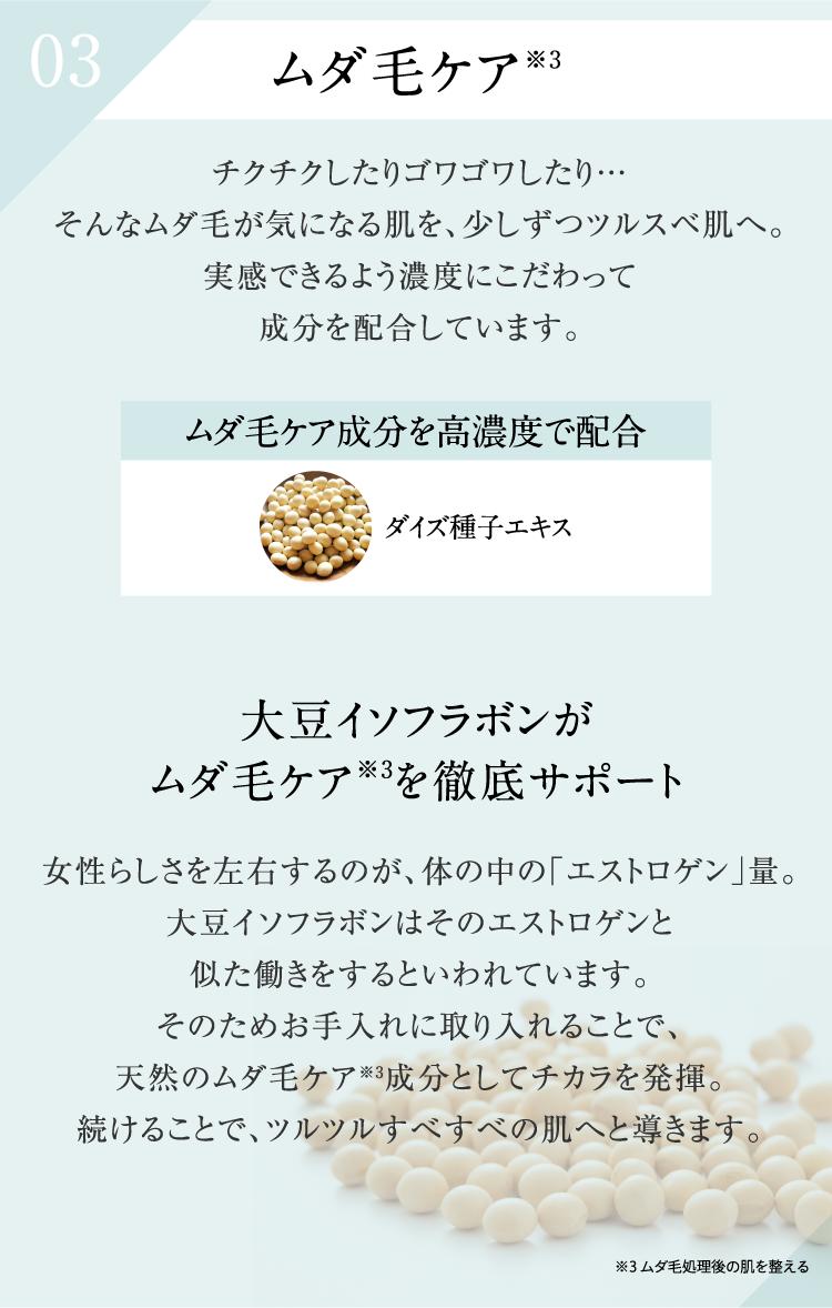 03 ムダ毛ケア