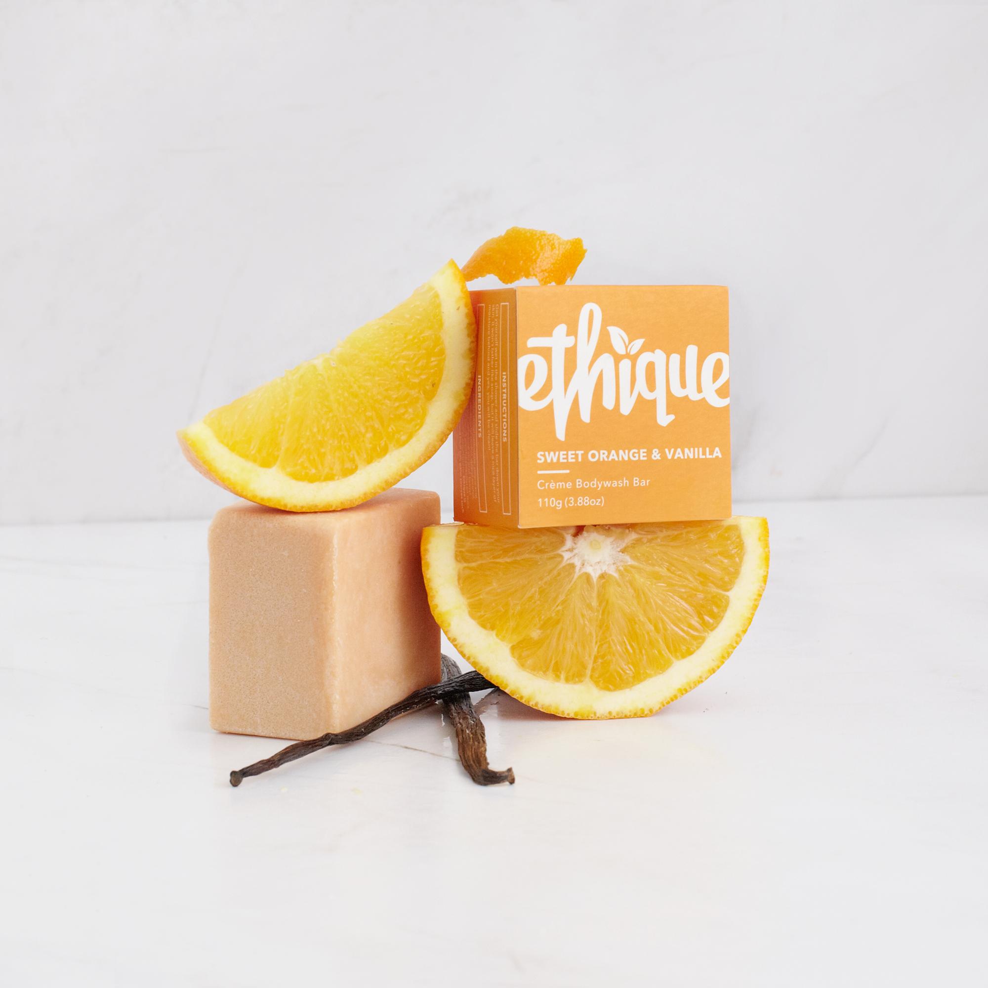 エティーク クリームボディウォッシュ オレンジ&バニラ 110g