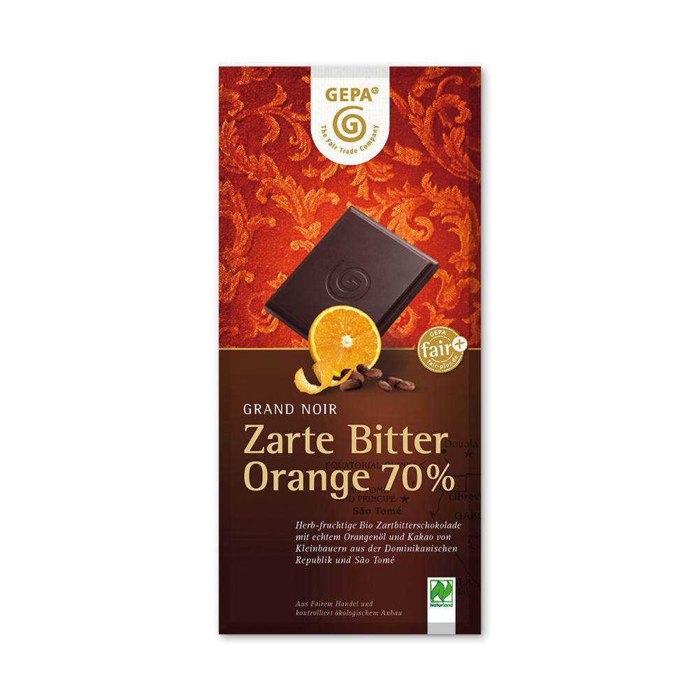 ゲパ|オレンジフレーバーダークチョコレート
