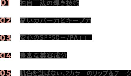 CUSHION FOUNDATION & LIP AND CHEEK SPF 50+ / PA+++