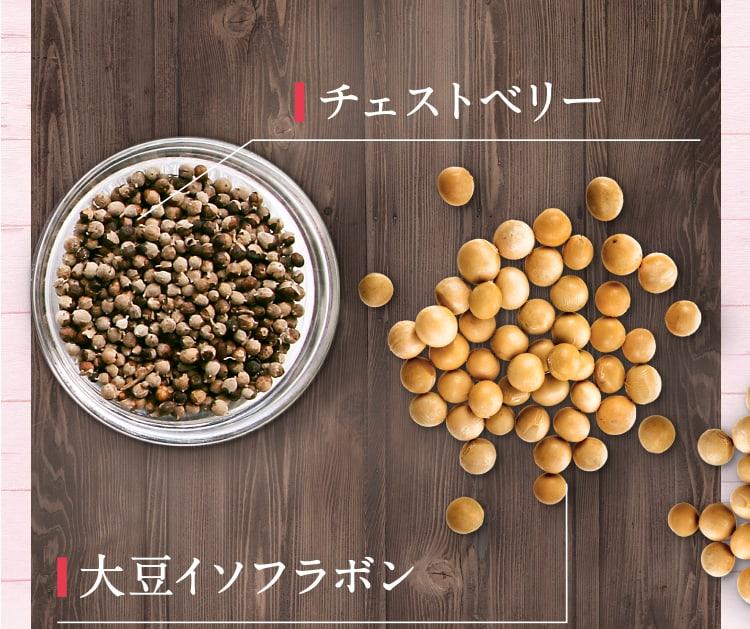 チェストベリー・大豆イソフラボン