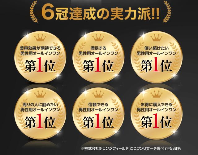6冠達成の実力派!