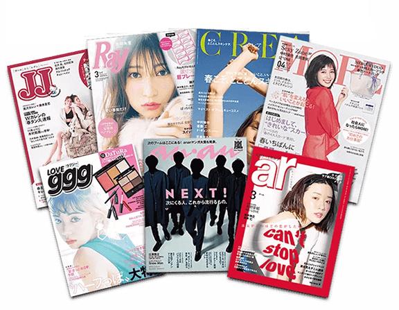発売以来、雑誌・TVなどで多数紹介され続けています。
