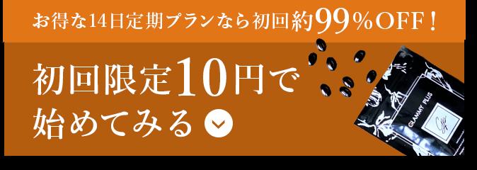初回限定10円を試してみる!