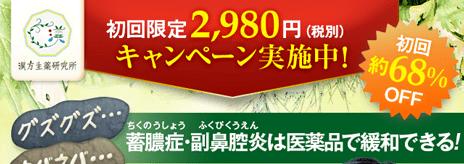 初回限定2,980円キャンペーン実施中!