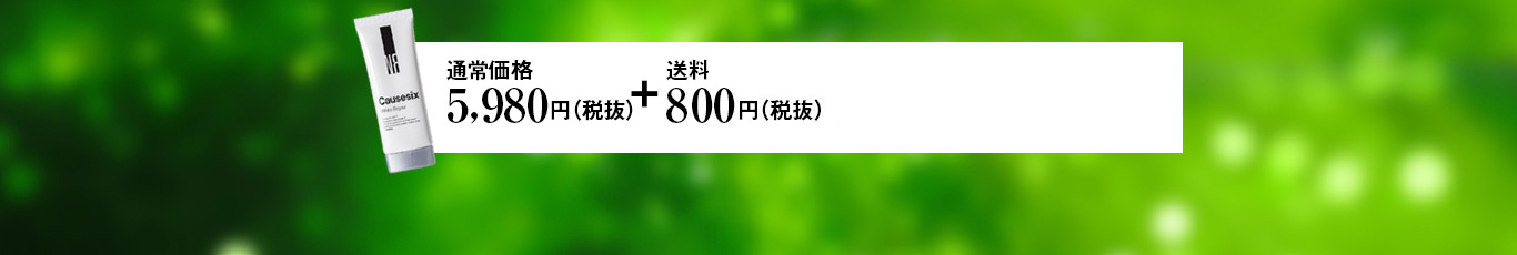 通常価格1本4,980円(税抜)