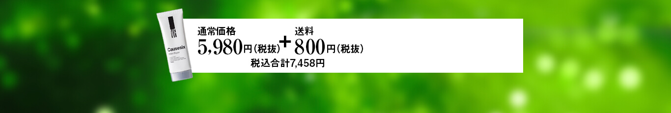 通常価格1本5,980円(税抜)