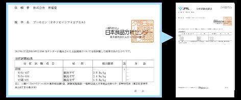 プロキオン Procyon 放射能検査済の書類