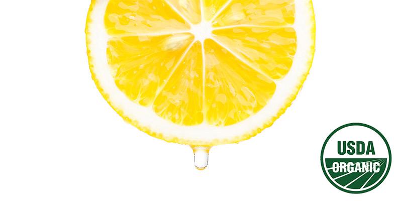 オーガニックレモンから丁寧に取り出した食事性葉酸