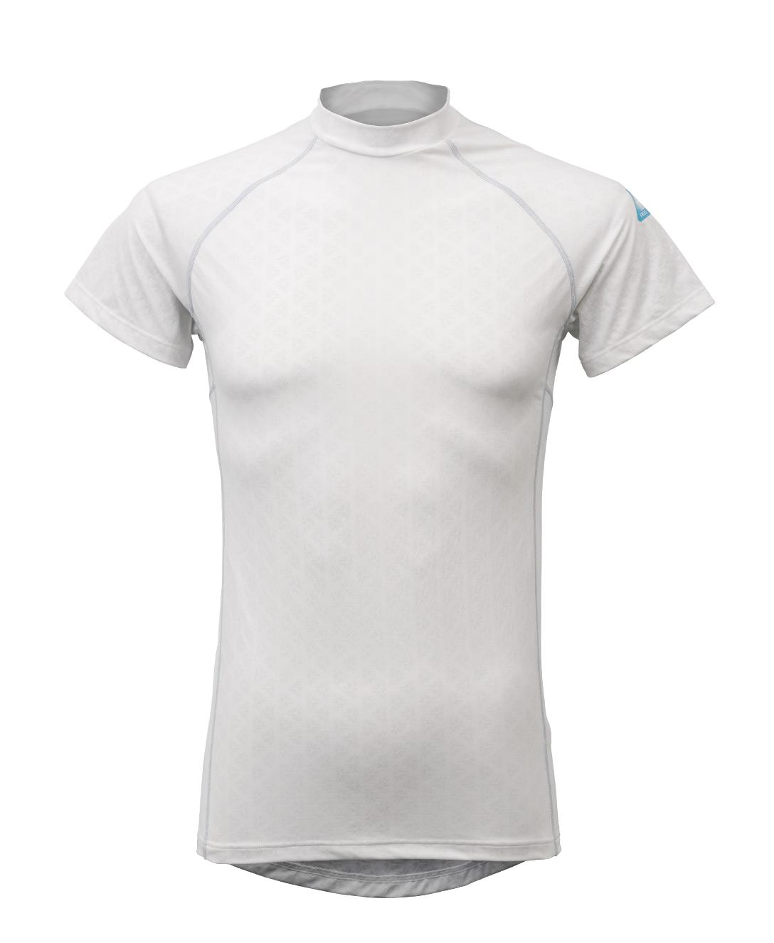 冷却インナーシャツ 半袖ローネックインナー