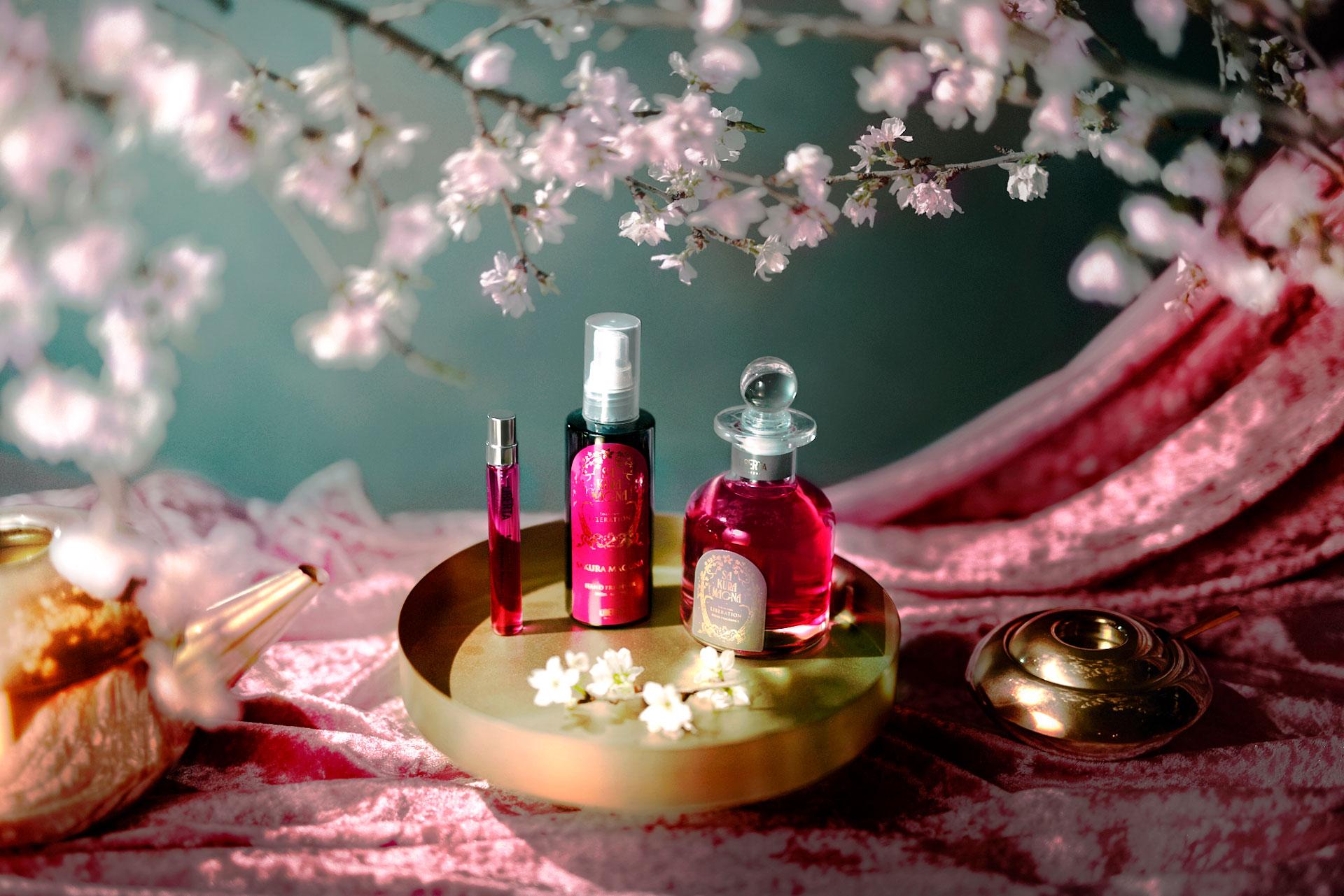 満開の桜香水サクラマグナ_ホームケアセット