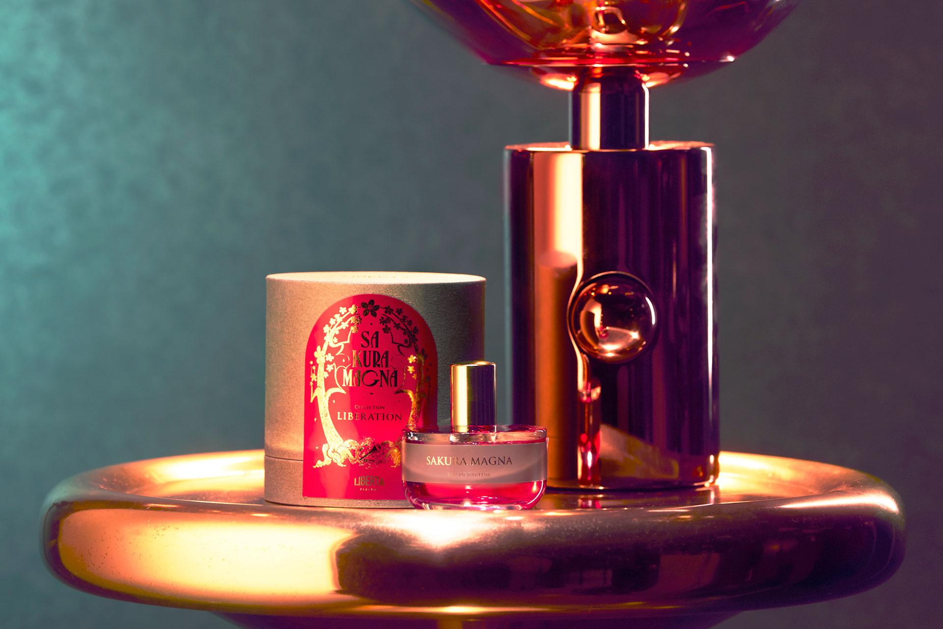 満開の桜香水サクラマグナ_50mlボトル