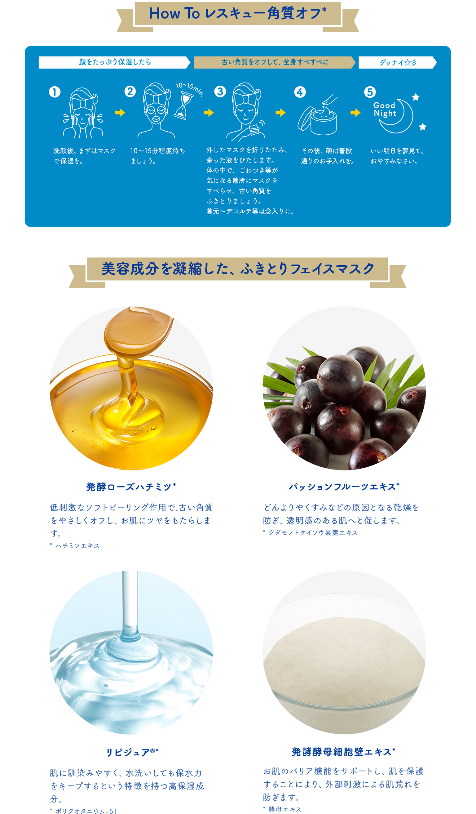 How To レスキュー角質オフ*