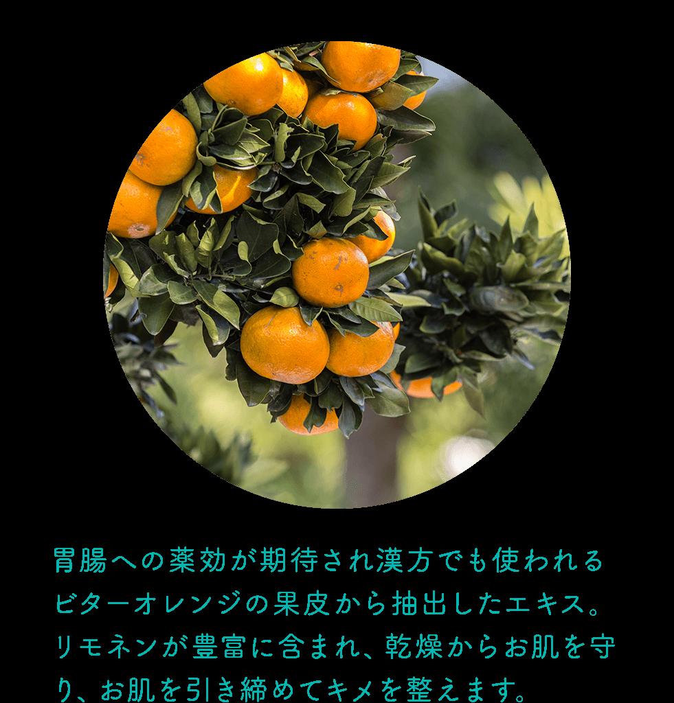 ビターオレンジ果皮エキス