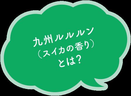 九州のプレミアムルルルン(スイカの香り)とは?
