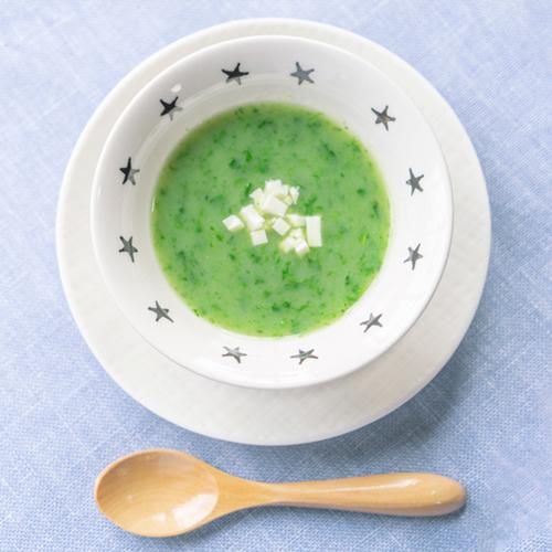 離乳食 もぐもぐ期 グリーンスープ