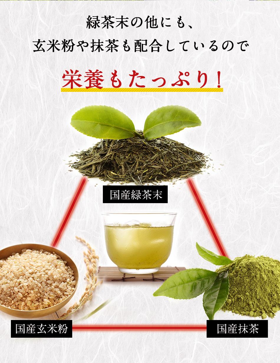 緑茶 玄米茶 抹茶