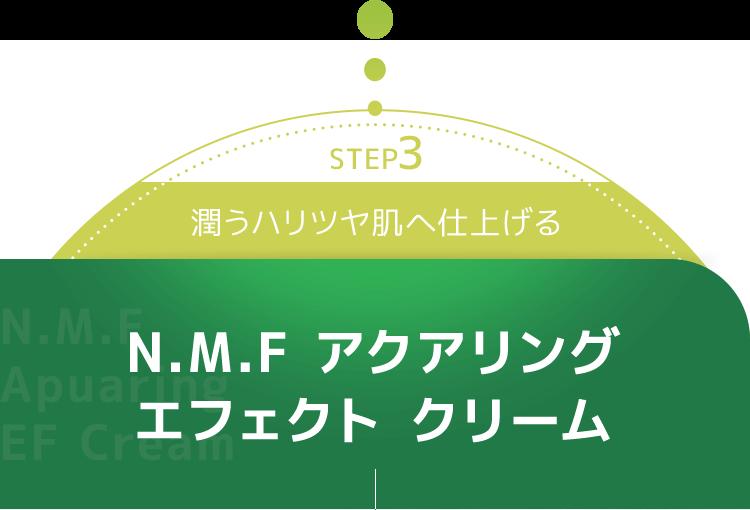 N.M.F アクアリング エフェクト フォーム