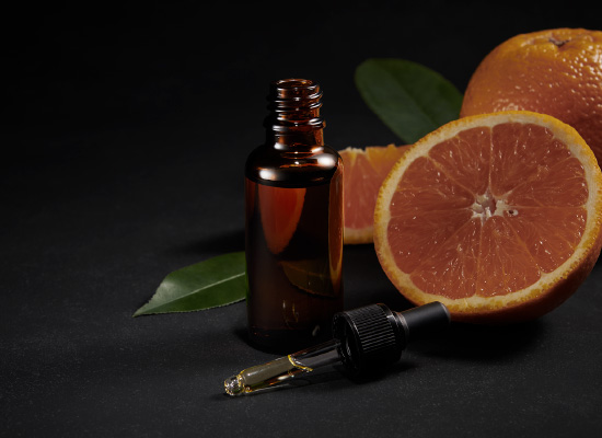 柑橘系の心地よい香り
