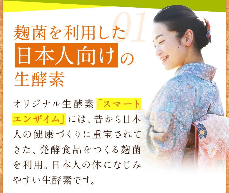麹菌を利用した日本人向けの生酵素