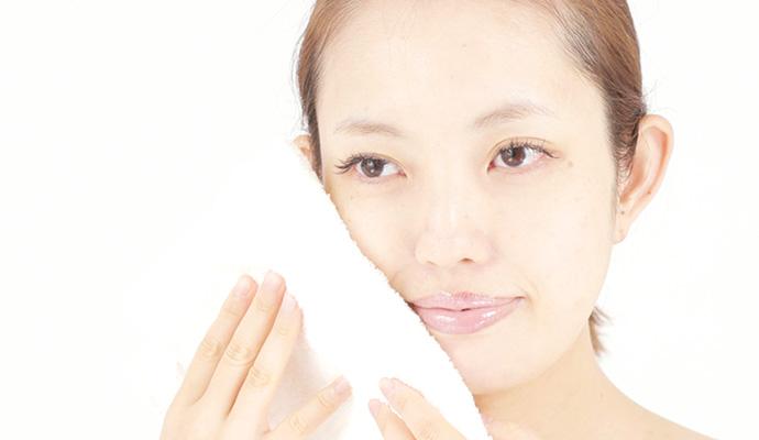 ダブル洗顔は不要、すぐにスキンケアへ