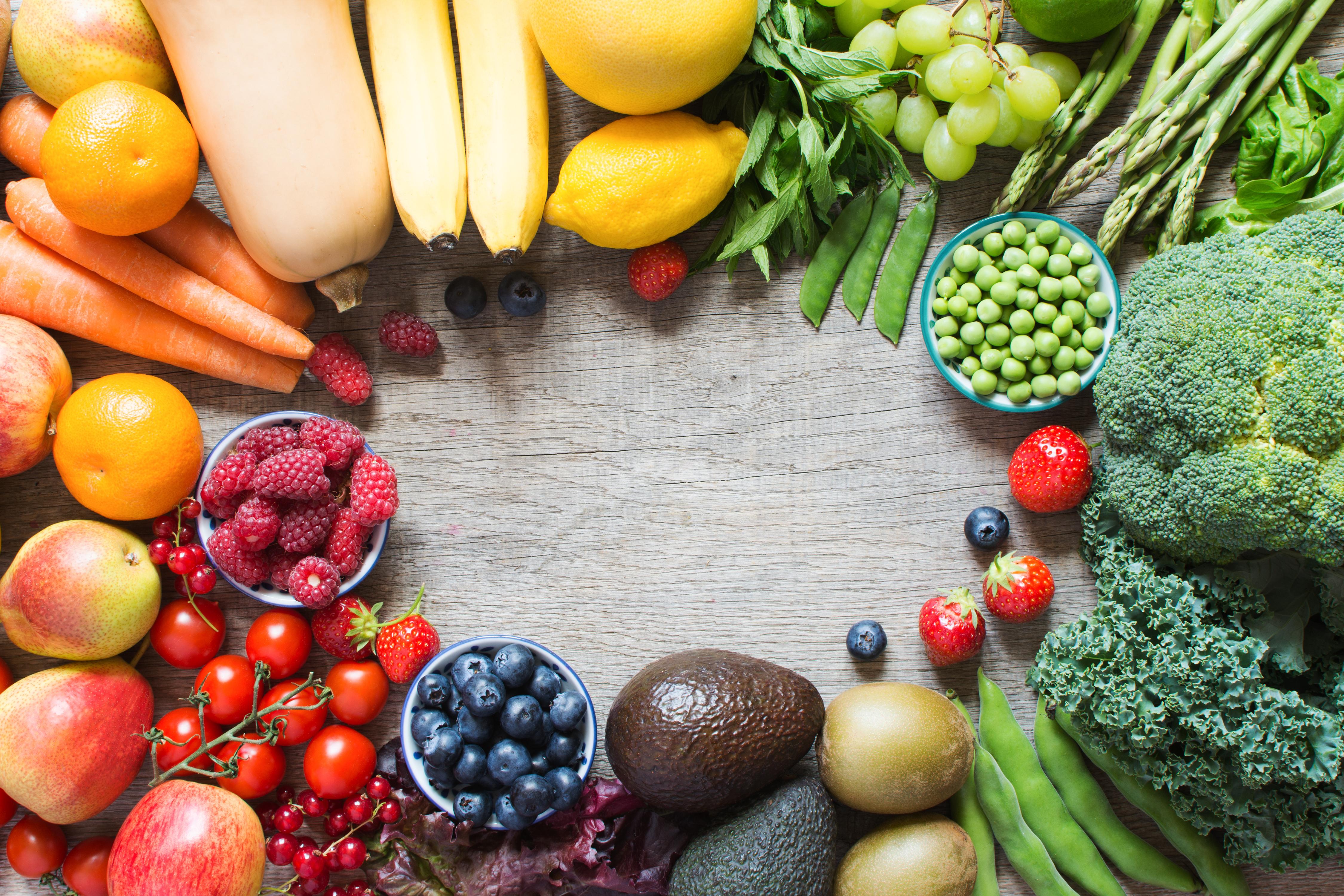 栄養豊富な緑黄色野菜